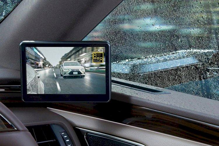 فناوری دوربین جایگزین آینه جانبی در لکسوس، معرفی شد
