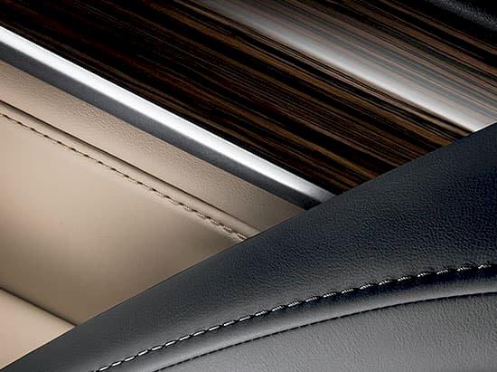 طرح چوب و تریم داخلی LX570